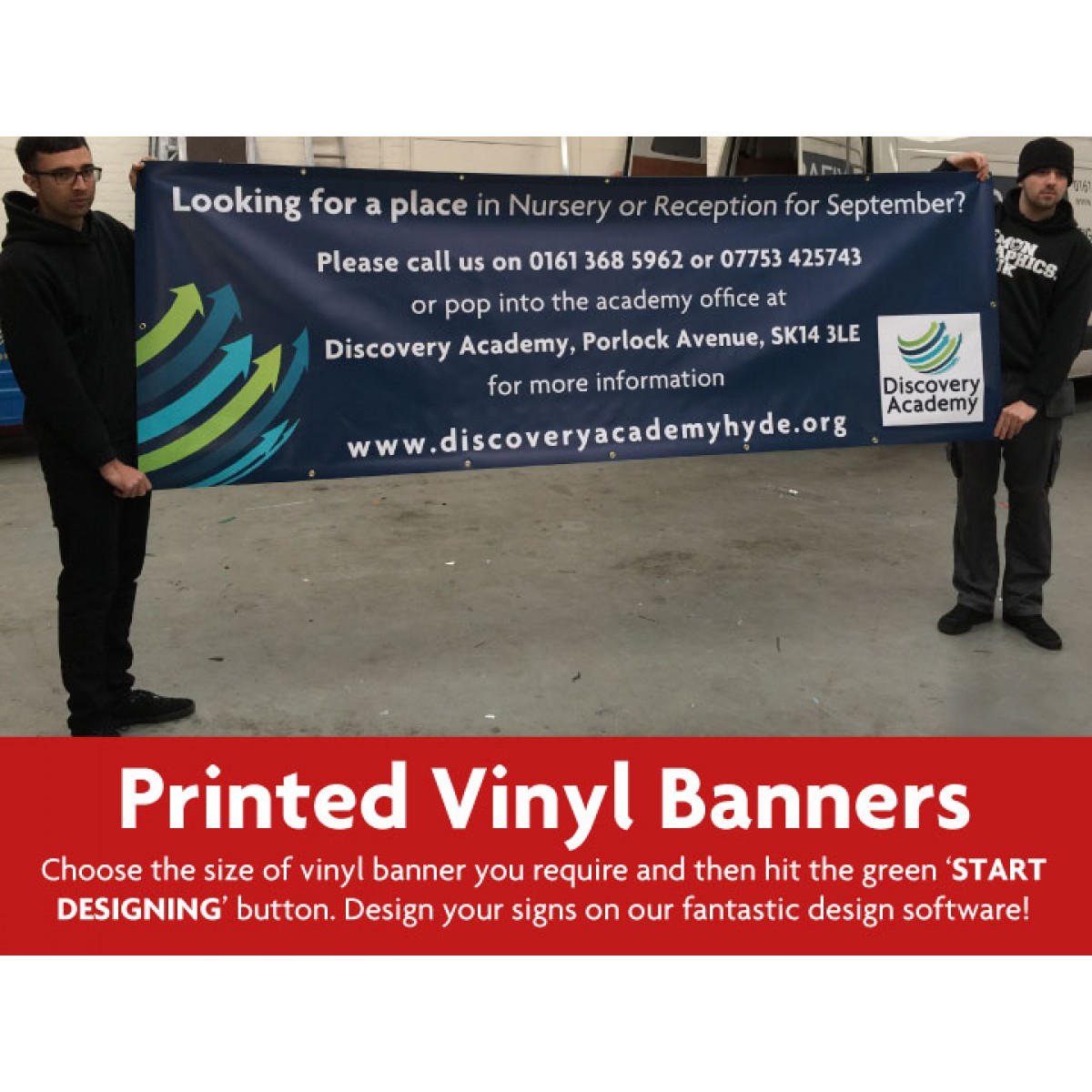 Printed Vinyl Banners Design Your Own The Sign Designer - Vinyl banners design
