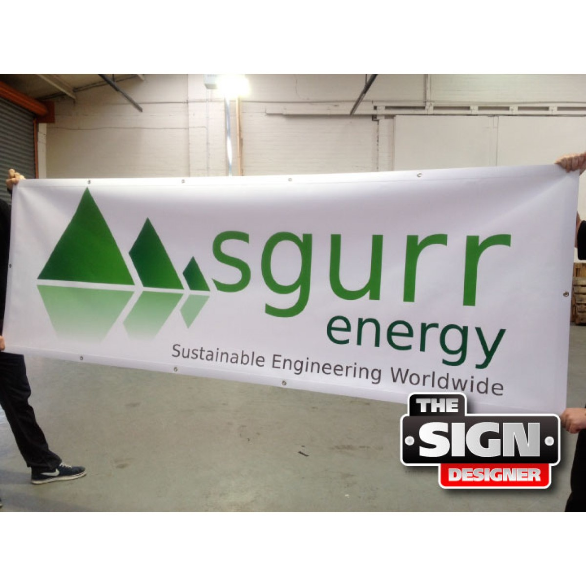 Printed Vinyl Banners - Design Your Own! - The Sign Designer