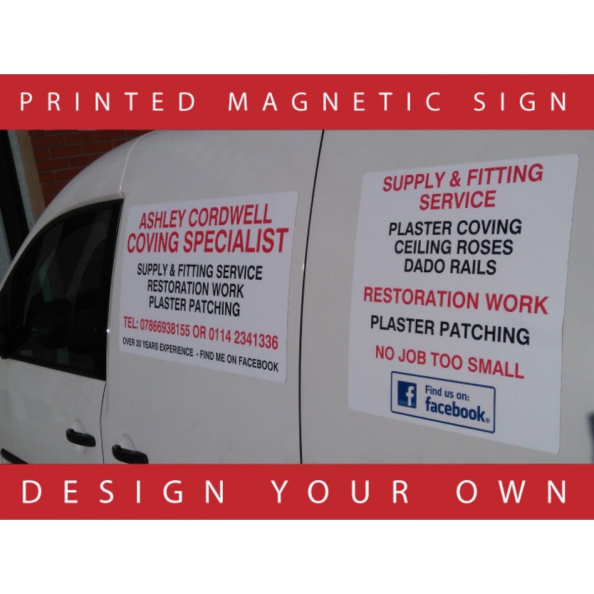 huge selection of best sneakers shopping Magnetic Signs for Cars and Vans - Design Your Own! - The ...