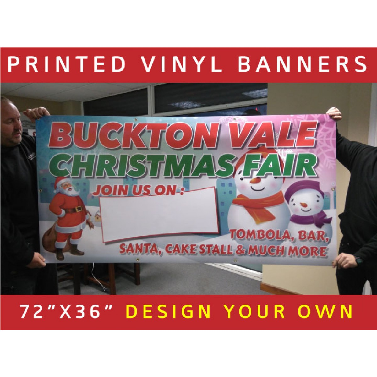 printed vinyl banners  design your own!  the sign designer