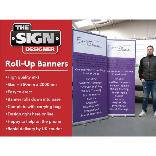 Roll Up Banners Design Your Own The Sign Designer