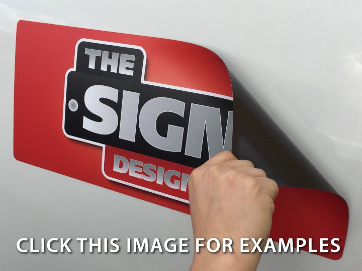 magnetic signs > design your own