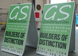 Pavement Signs and A-Boards - Design Your Own!