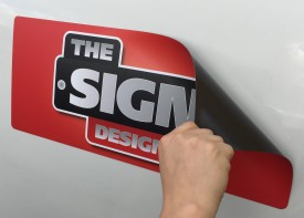 Magnetic Signs for Cars and Vans - Design Your Own!