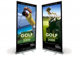 Roll Up Banners and Roller Banners - Design Your Own!